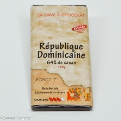 Origine République Dominicaine 64%