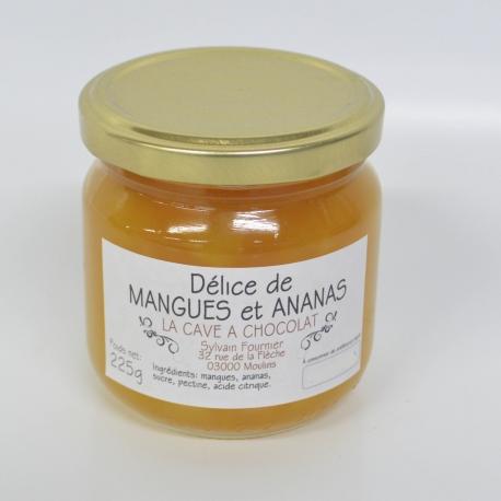 Délice de mangues et ananas